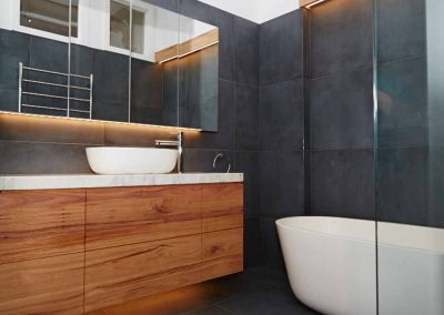 bathroom renovation in kedron with Avocado Constructions