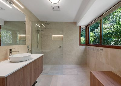 bathroom renovation in oxley with Avocado Constructions