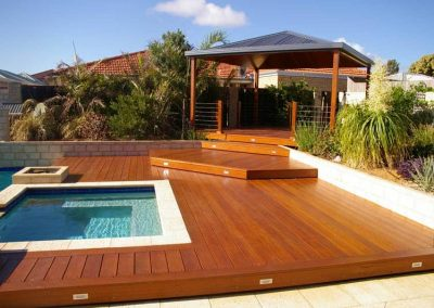 pool decking and gazen in chermside with Avocado Constructions Brisbane
