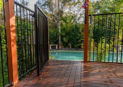 pool fencing and decking in jindalee with Avocado Constructions Brisbane