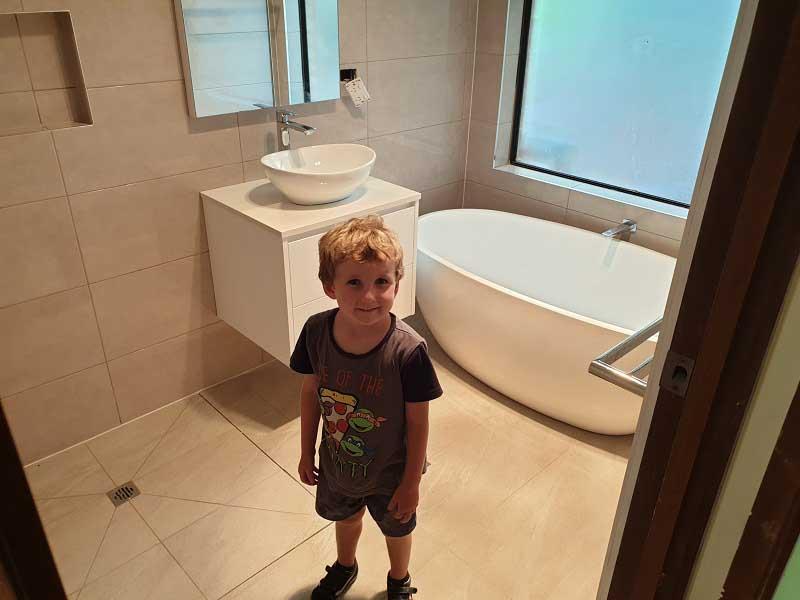 bathroom renovation in McDowall Brisbane by Avocado Constructions