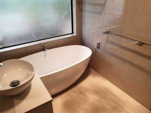 bathroom transformation in McDowall by Avocado Constructions Brisbane