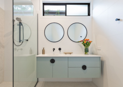 ensuite renovation red hill with Avocado Constructions