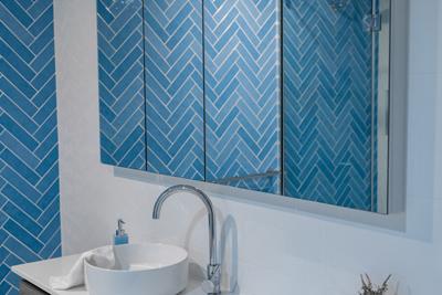 bathroom renovation belmont mirror cabinet and vanity design by avocado constructions