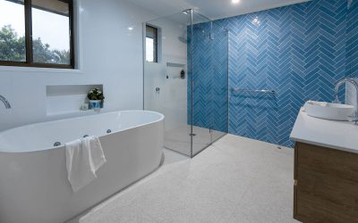 Modern Bathroom Greek Islands Style