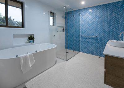 modern bathroom renovation greek islands style by avocado constructions