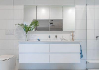 Custom White Vanity Design