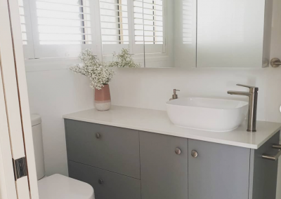 Counter Top Basin Vanity Custom Design